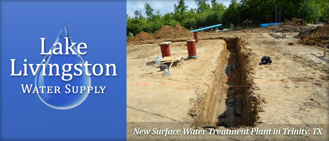 New Surface Water Treatment Plant in Trinity, TX